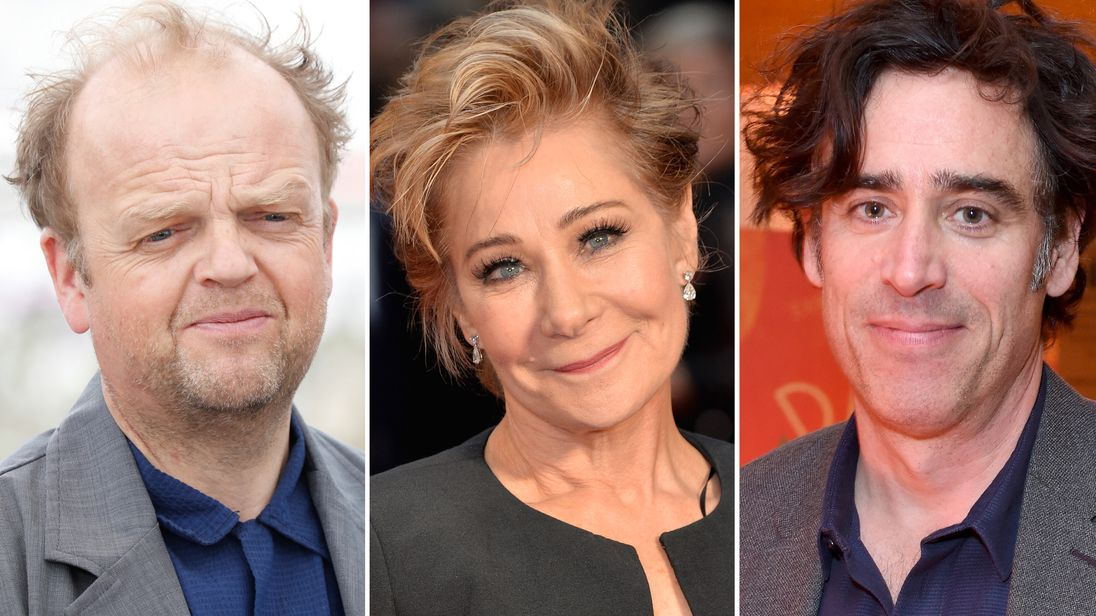 Toby Jones, Zoe Wanamaker and Stephen Mangan
