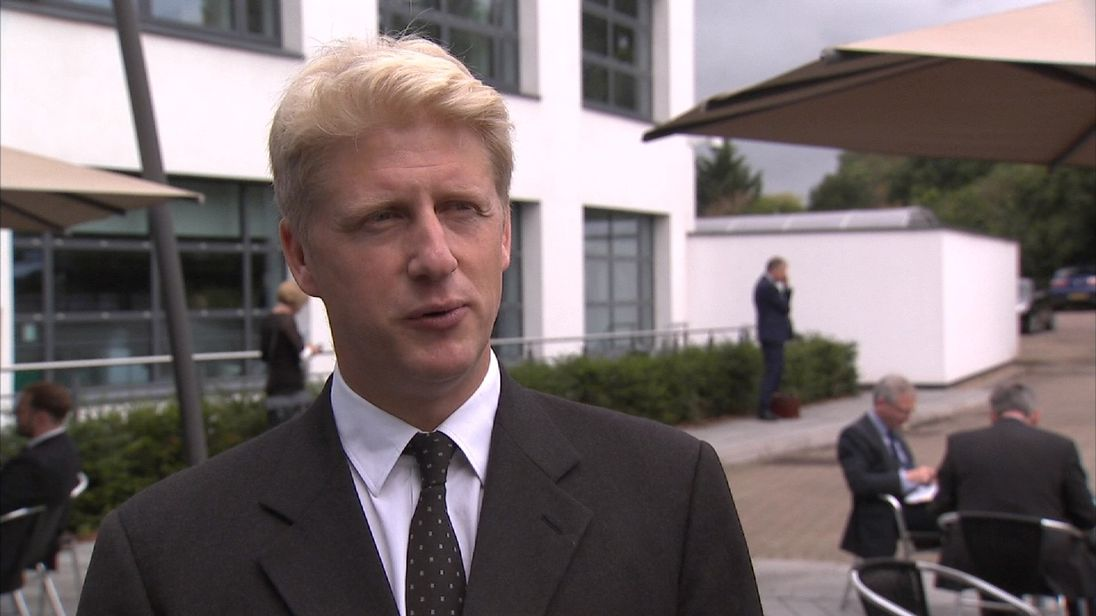 The Universities Minister Jo Johnson says universities could be fined if they reward huge salaries