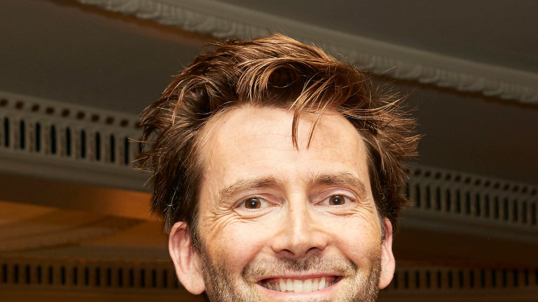 David Tennant attending the TV Choice awards