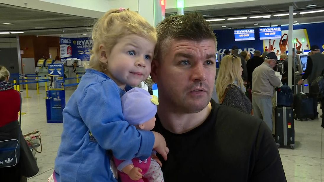 A passenger at Dublin airport reflects on the latest woes affecting Ryanair