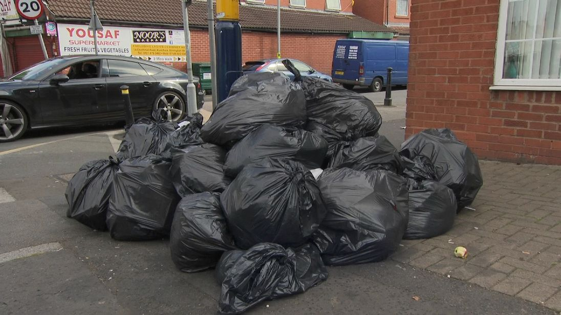 Refuse collectors are striking again in Birmingham