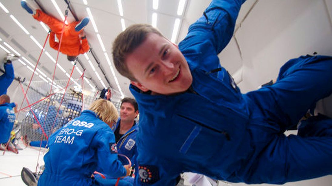 English astrobiologist Sam Payler said the chance to go to Mars for real would be an 'amazing adventure'