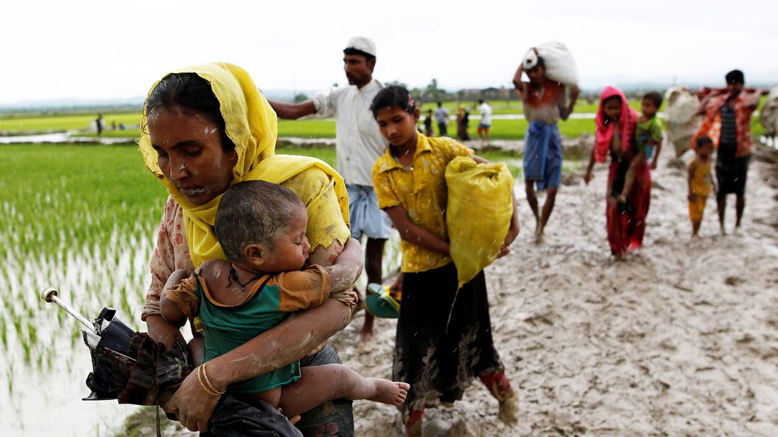 rohingya problem Indian prime minister blames rohingya violence on extremists  promised to  work together to solve what they termed a terrorist problem.