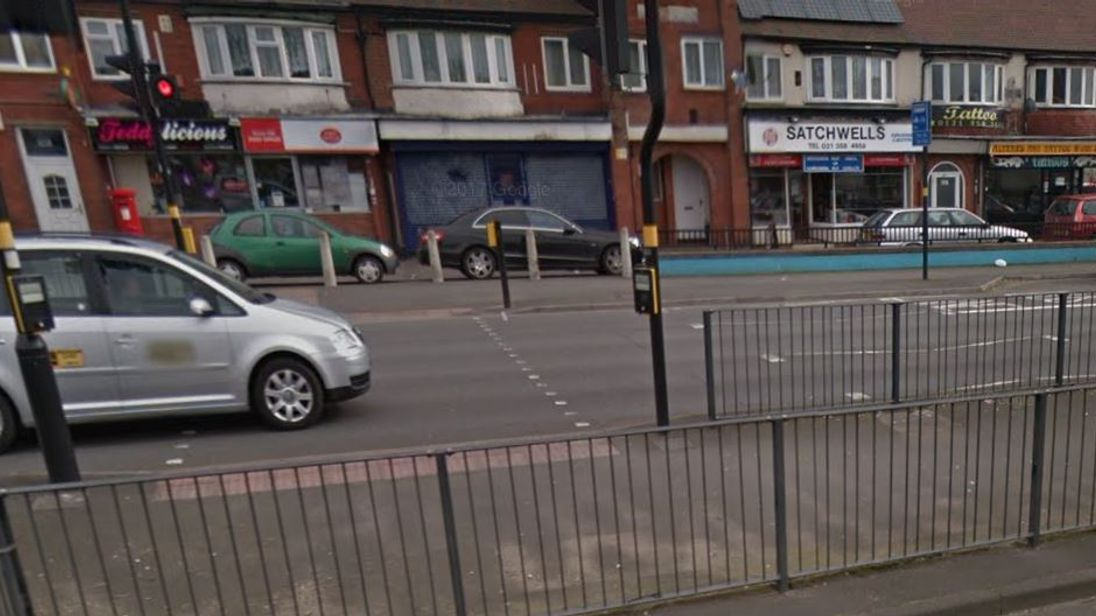 The scene of the hit-and-run in Great Barr. Pic: Google Street View