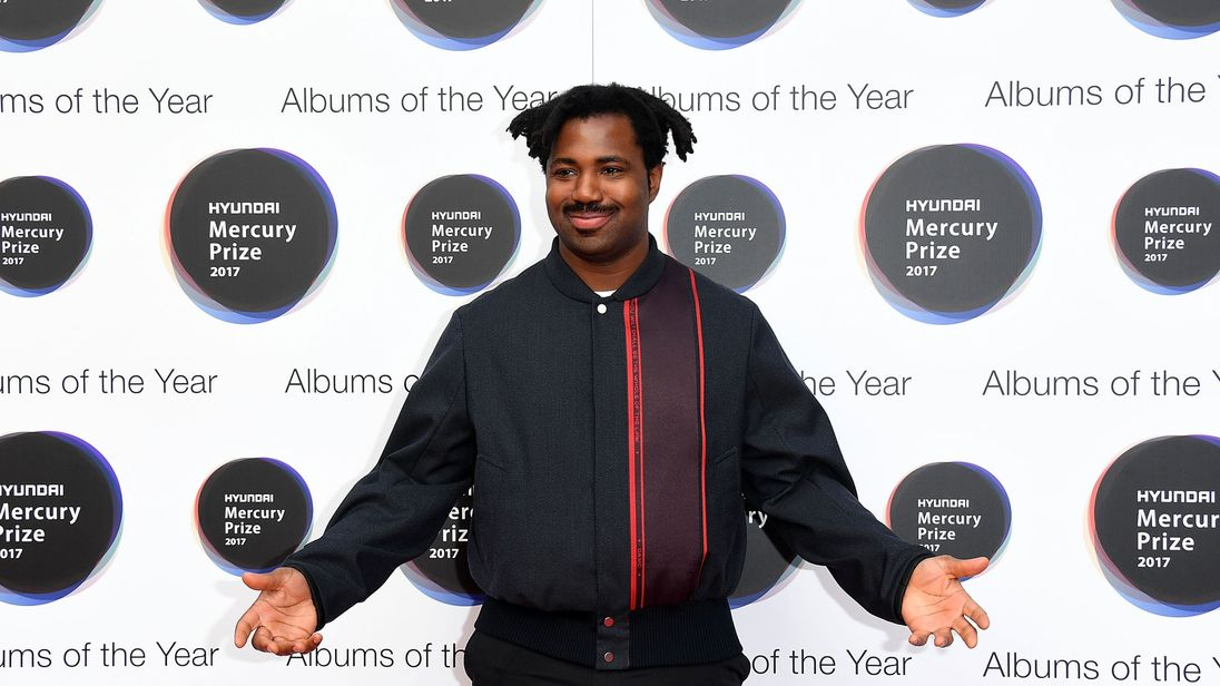 LONDON, ENGLAND - SEPTEMBER 14: Sampha arrives at the Hyundai Mercury Prize 2017 at Eventim Apollo on September 14, 2017 in London, England. (Photo by Stuart C. Wilson/Stuart C. Wilson/Getty Images)