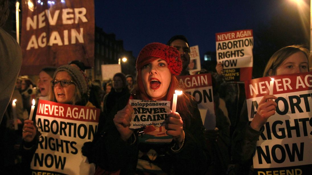 Abortion was thrust into the spotlight in Ireland after the death of Savita Halappanavar