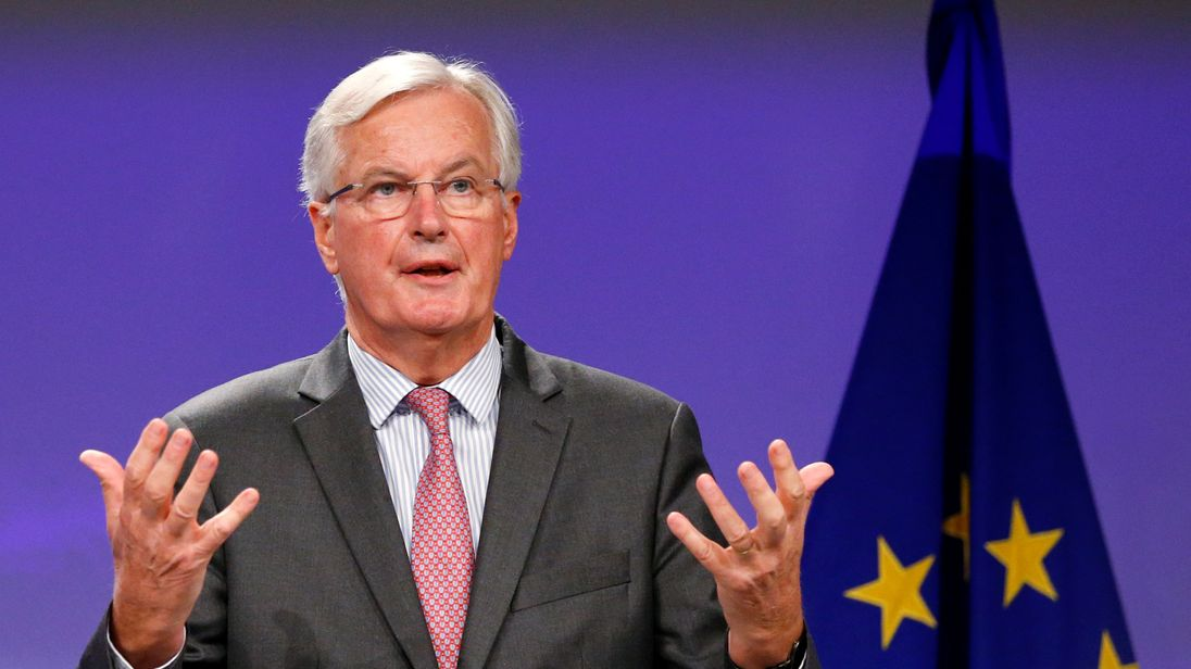 The EU's chief Brexit negotiator Michel Barnier warned 'we're not there yet'