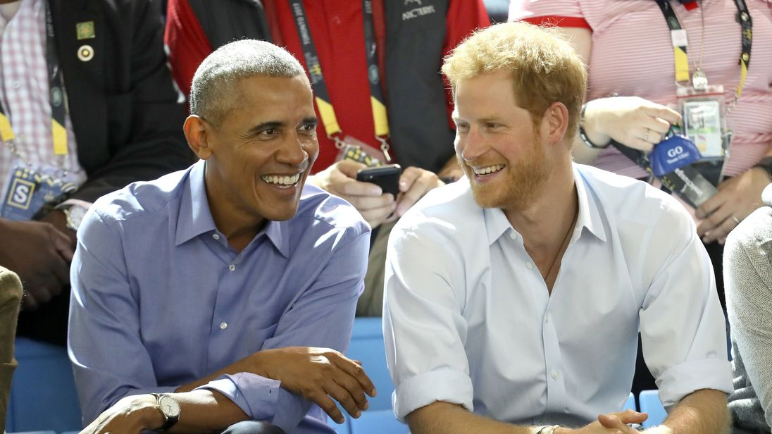 Prince Harry Catches an Adorable Popcorn Thief