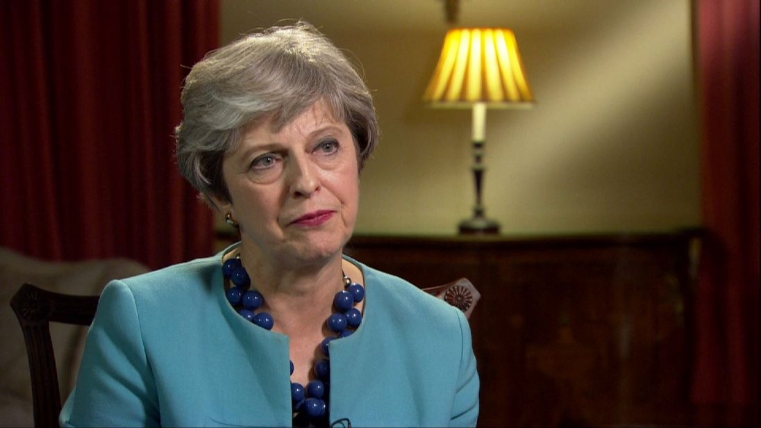 Theresa May comments on US tariffs on Bombardier