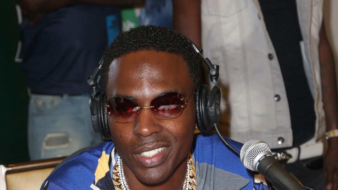 Young Dolph at day 2 of the Radio Broadcast Center, sponsored by Sprite, during the 2017 BET Awards at Microsoft Square on June 24, 2017 in Los Angeles, California