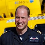 Prince William starts his final shift with the East Anglian Air Ambulance