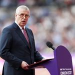 The Duke of York makes a speech during day one of the 16th IAAF World Athletics