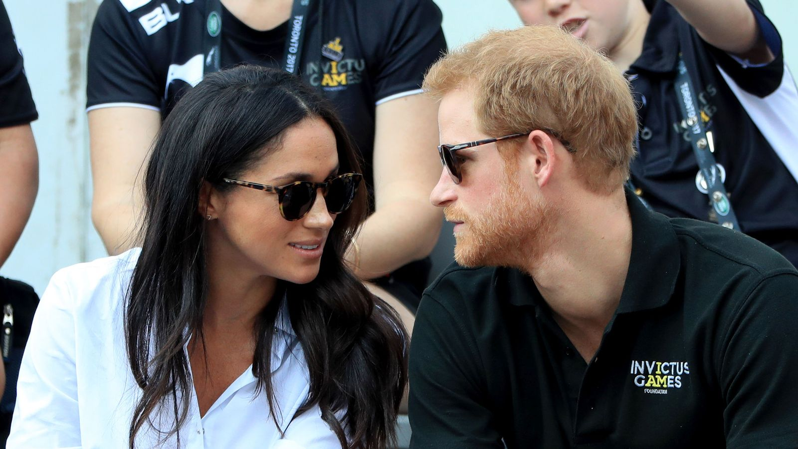 The look of love? Prince Harry and Meghan Markle's first ...