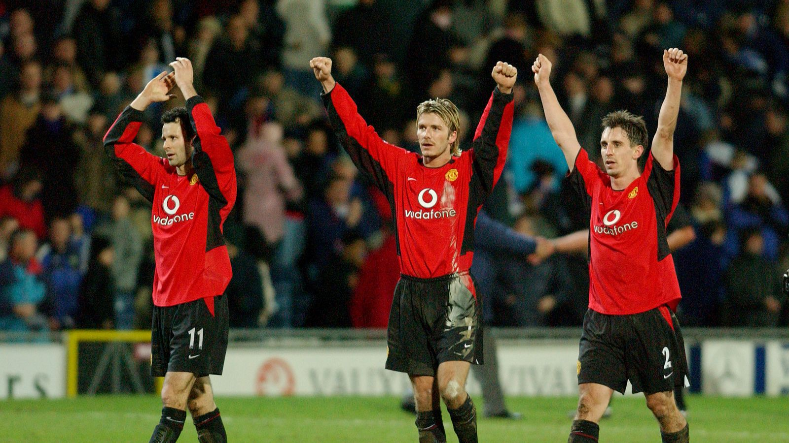 0d666c0d44e Gary Neville was disappointed but  relieved  when David Beckham left  Manchester United