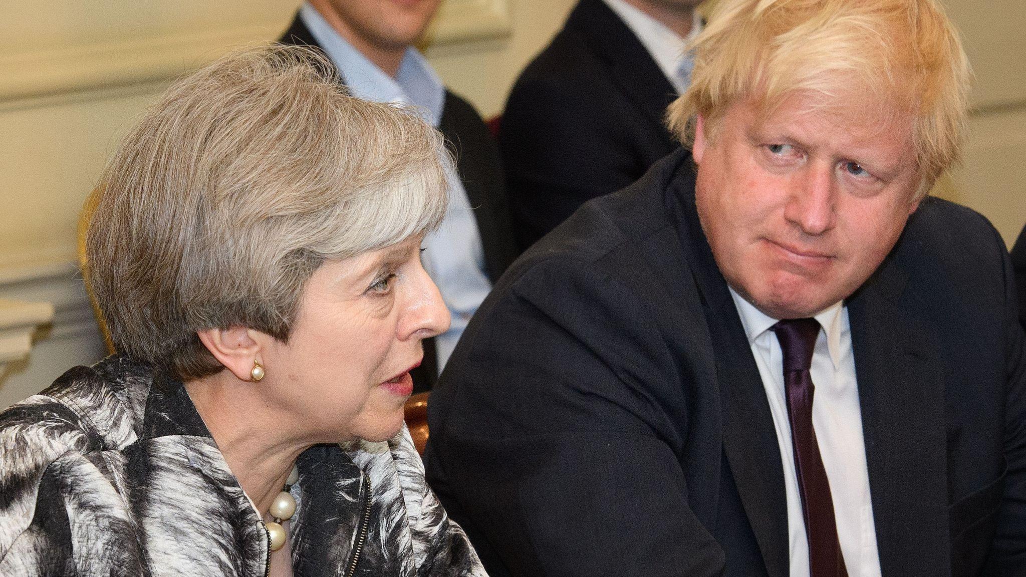 Downing Street insists there will be no hard Irish border