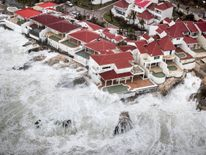 Hurricane Irma hits Saint Martin