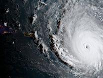 Hurricane Irma, a record Category 5 storm. Pic: NOAA
