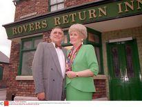 Jack Duckworth [Bill Tarmey] and Vera Duckworth [Liz Dawn]