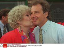 Elizabeth Dawn and Tony Blair