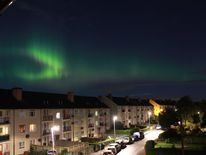 The aurora over Edinburgh. Pic: Jean-Loup Rebours-Smith