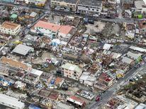 The damage of Hurricane Irma in Philipsburg, on the Dutch Caribbean island of Sint Maarten
