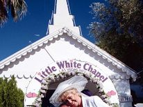 Jack (Bill Tarmey) goes down on one knee as he asks Vera (Liz Dawn) to tie the knot again