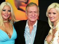 Long-term partner Holly Madison broke off her relationship with Hefner in 2008