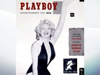 Playboy's first issue featured naked pictures of Marilyn Monroe