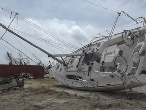 Ninety-five percent of Tortola's boats have been destroyed, according to initial analysis