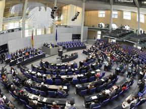 Bundestag chamber