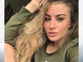 CE grab instagram of chloe Ayling