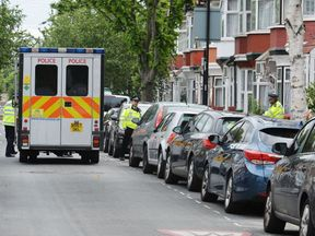 A police terror raid in London in June this year