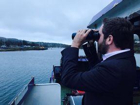 Sky's Darren McCaffrey on the hunt for Bere Island's lottery winner