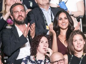 Meghan Markle attends the Opening Ceremony of the 2017 Invictus Games at the Air Canada Centre in Toronto, Canada. PRESS ASSOCIATION Photo. Picture date: Saturday September 23, 2017. Photo credit should read: Danny Lawson/PA Wire