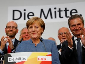 Angela Merkel says she hoped for a better result