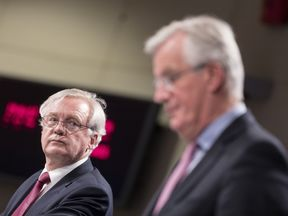 David Davis and Michel Barnier are about to engage in a new round of talks