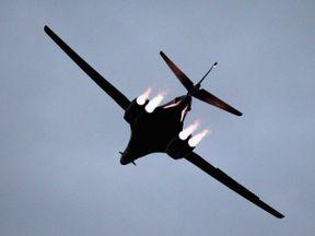 USAF B-1B bombers have been sent to South Korea