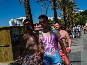The typical Ibiza lads' holiday appears to getting less popular