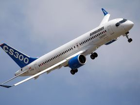 A Bombardier CS300
