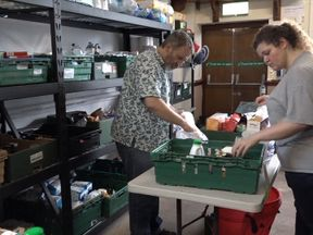 The Trussell Trust says it has seen a rise in visitors to its foodbanks