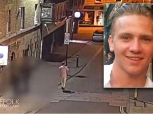 Mother of missing RAF gunner Corrie McKeague retraces his final steps