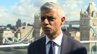 Sadiq Khan advises calm after explosion on a tube at Parsons Green tube station