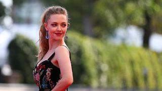 """Actor Amanda Seyfried during a red carpet event for the movie """"First reformed"""""""