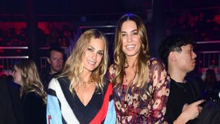 Amber Le Bon and Yasmin Le Bon during the Tommy Hilfiger Front row
