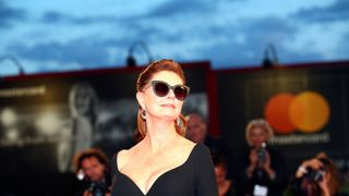 """Susan Sarandon during a red carpet event for the movie '' The Leisure Seeker """""""