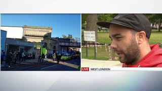 Witness Luke Walmsley speaks to Sky News
