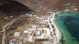 Tortola, in the British Virgin Islands