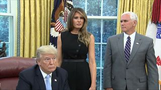 Donald Trump told Melania she did a great job speaking to the nedia