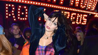 Daisy Lowe during the Tommy Hilfiger Front row