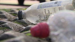More than 700,000 bottles are littered in the UK every day